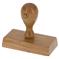 Dřevěné razítko DO 7540, rozměr 75 × 40 mm